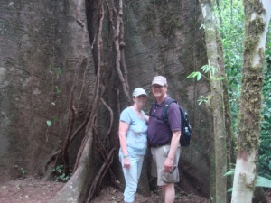 Pat & Linda in Costa Rica